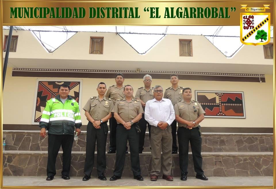 Visita de Autoridades de la Policía Nacional.