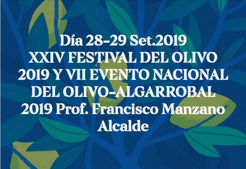 XXIV FESTIVAL DEL OLIVO 2019